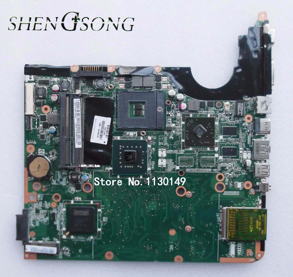 Free Shipping 578378-001 laptop motherboard For HP DV6 DV6-1000 DV6T motherboard DDR3 ,fully tested original 615279 001 pavilion dv6 dv6 3000 laptop notebook pc motherboard systemboard for hp compaq 100% tested working perfect