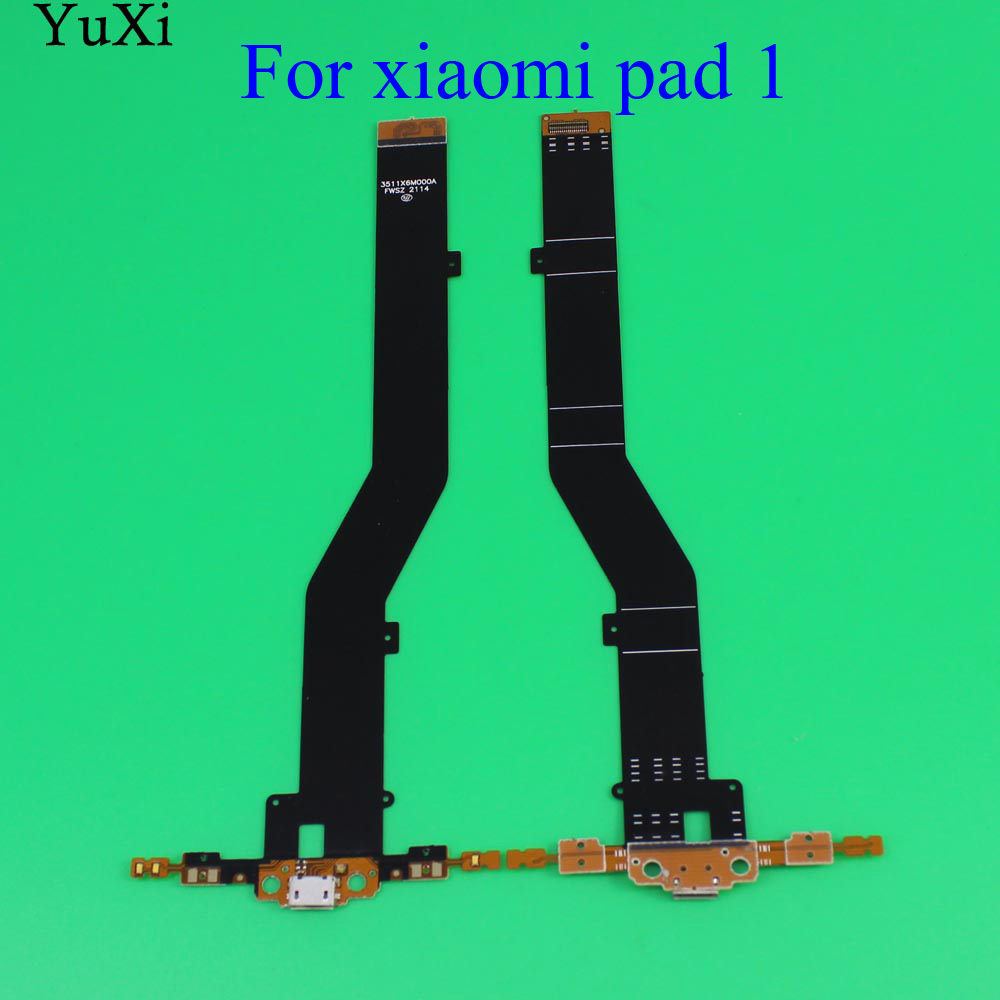 YuXi For Xiaomi Mi Pad 1 2 Micro USB Type-C Dock Charger Connector Charging Port Flex Cable For Mipad 1 Mipad2