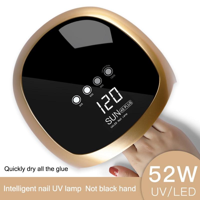 1 Pcs UV LED Nail Dryer Lamp Curing Light 52W Gel Polish Quick Drying Manicure Tool HS111 Pcs UV LED Nail Dryer Lamp Curing Light 52W Gel Polish Quick Drying Manicure Tool HS11