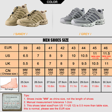 FREE SOLDIER Outdoor Sport Hiking Shoes Tactical Shoes For Men Lightweight Walking Boots Upstream Shoes For Summer