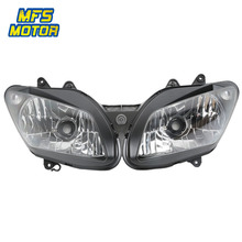 Headlight For 02-03 Yamaha YZF-R1 YZFR1 Motorcycle Front Lamp Assembly Upper Headlamp Head Light Housing 2002 2003 все цены
