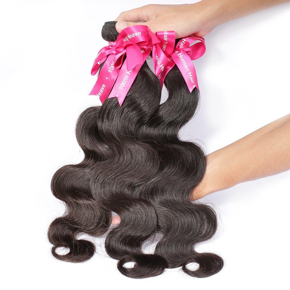 Luvin Peruvian Virgin Hair Body Wave 3 Bundles Lots 100 Human Hair Weave Bundles Natural Color