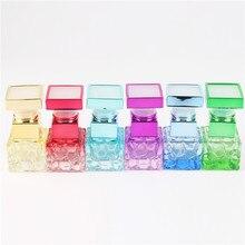 1pcs 5ml Mini Perfume Bottle  Portable Travel Refillable Perfume Atomizer Bottle Color Spray Scent Pump Empty Case with 6colour