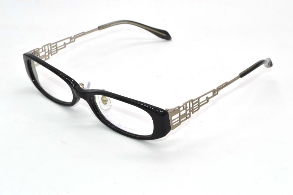 Handmade Optical alloy hollow temple Designer eyeglass frame Custom ...