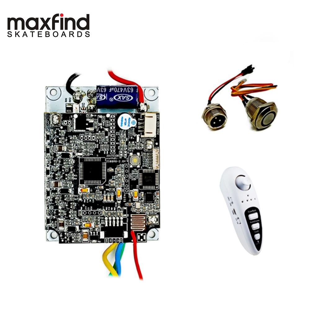 Maxfind Poweful 1000 W Unique Moteur skateboard électrique avec Télécommande et bricolage Lecteur kit de moteur pour Électrique Longboard (Seul Disque)