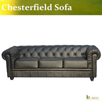 U BEST U BEST High Quality Classical Sofa Pull Clasp Sofa European Style Chesterfield Sofa Living
