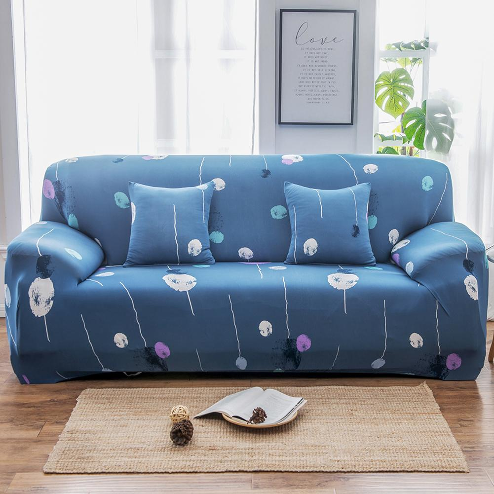 Kat Flamingo Leaf Star Patroon Elastische Stretch Universele Bank Covers Sectionele Gooi Couch Hoek Cover Cases Voor Meubels