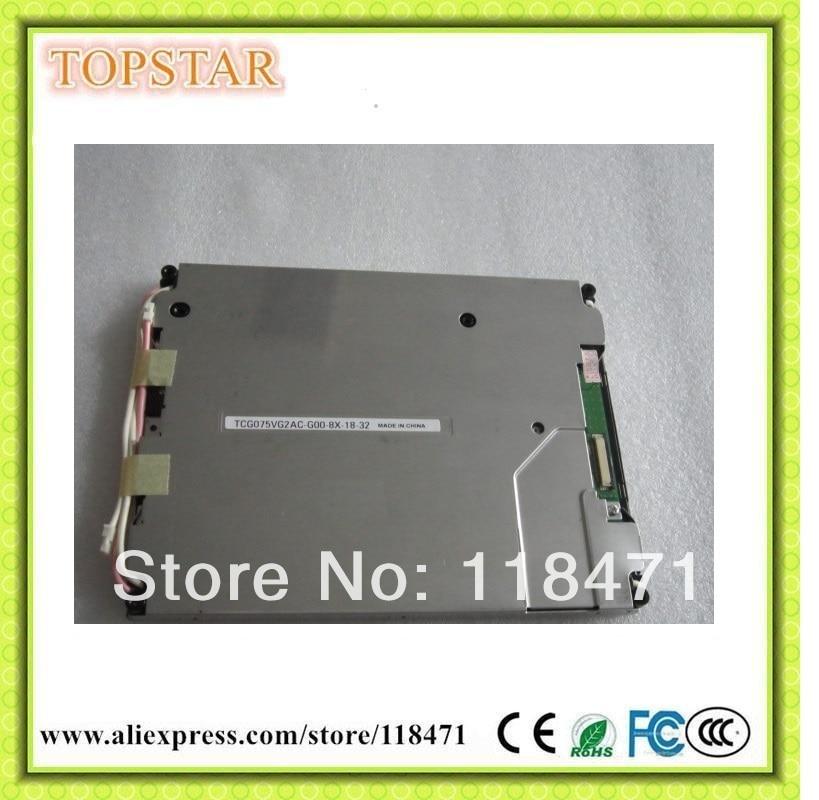 7.5 Pouce TFT LCD Panel TCG075VG2AC-G00 640 RGB * 480 VGA Parallèle RVB Écran lcd 1ch, 6-bit