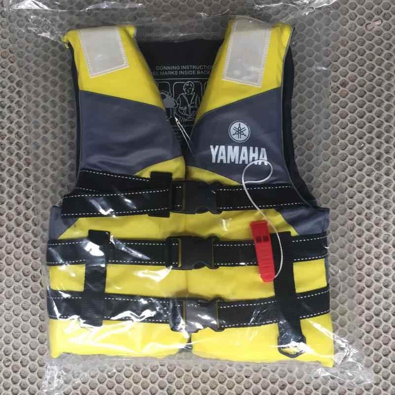 Rafting ao ar livre yamaha colete salva-vidas para crianças e adulto natação snorkeling wear terno de pesca profissional nível deriva terno