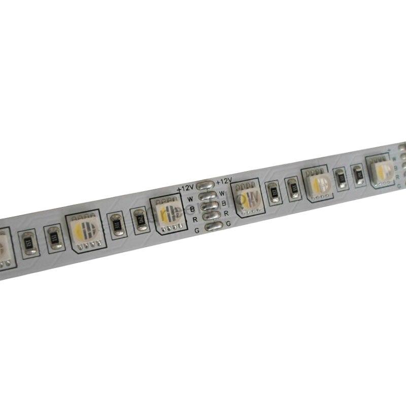 5mX Hot sales 5050SMD RGBW LED strip DC12V input 60LED m 4 color in 1 LED