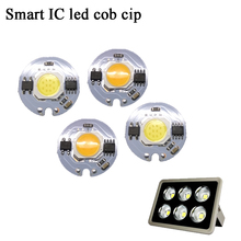YB Led Cob Lamp Chip Smart IC 9W 7W 5W 3W 220V Input Fit For DIY Cold Warm White LED Spotlight Floodlight Outdoor Light