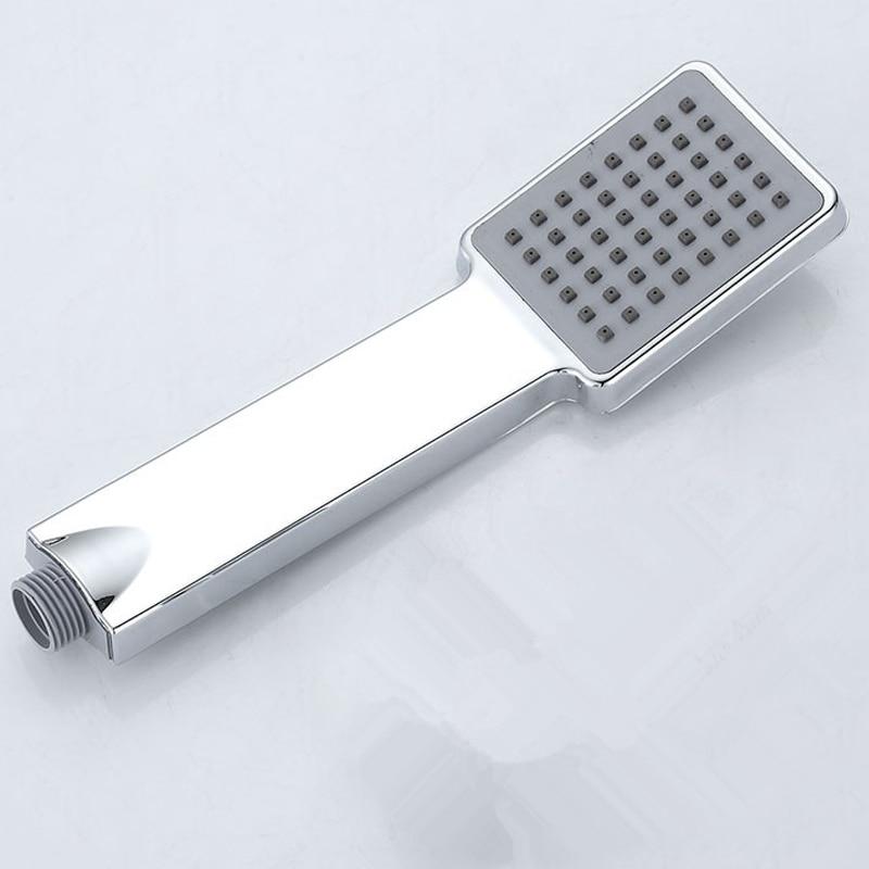 Chrome Free Shipping Water Saving Shower Head ABS Hand held Hand ...