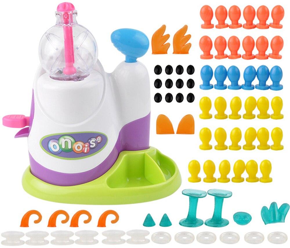 Oonies magia diy adesivo pegajoso animais natal ano novo educação brinquedos para crianças criativo bolha presente oonies acessórios bola