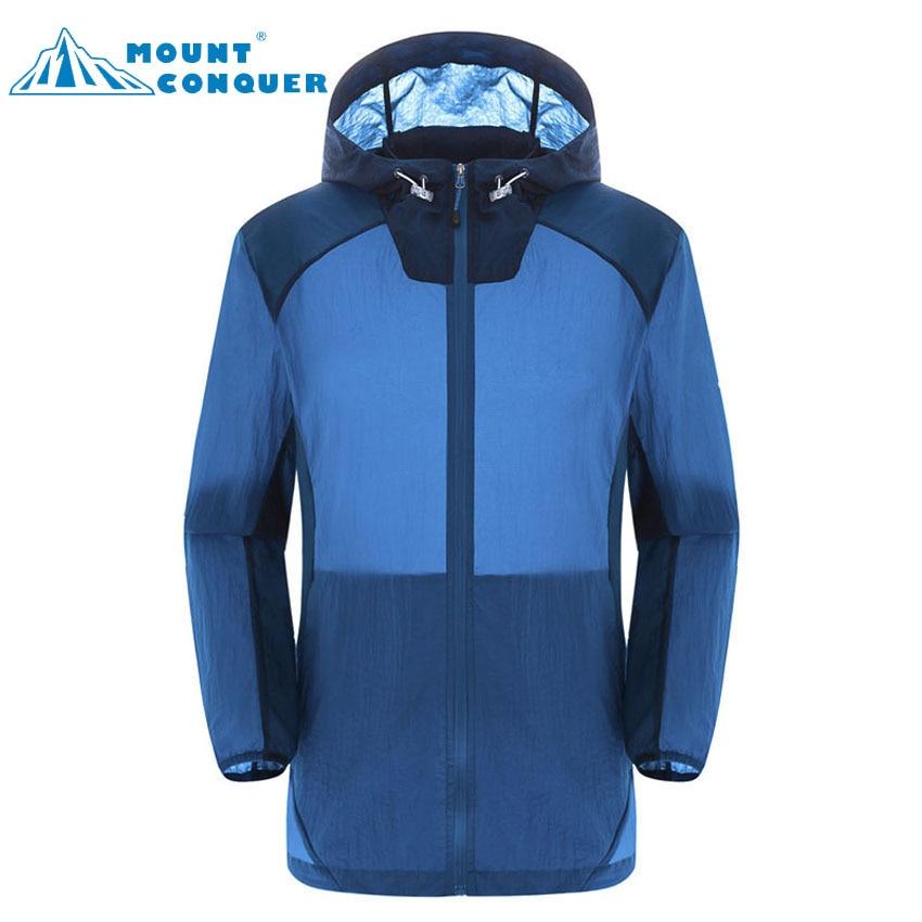 MOUNT CONQUER 2017 Uomo Estate Quick Dry Anti-UV Ultraleggero Giacche - Abbigliamento sportivo e accessori