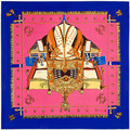 New Spring The French Hot Sale Women Scarf Carriage Chain Pattern Handkerchief Silk Brand Scarf 100cm*100cm Shawl SH15102210