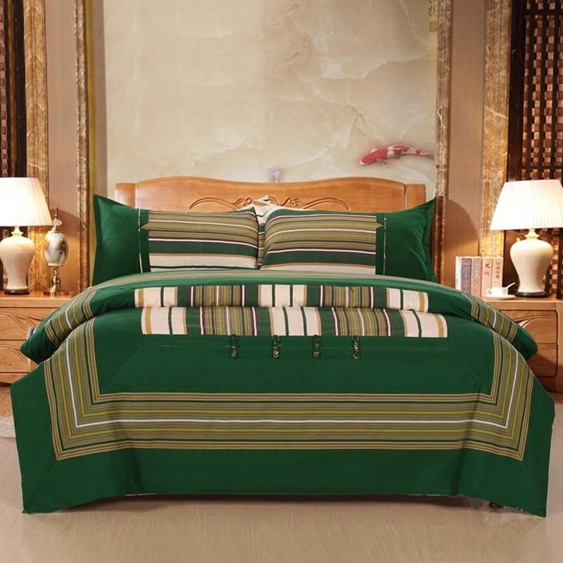 Fyrstycke Bomull Retro Hållbar Kinesisk Stil Sängkläder Sätter - Hemtextil