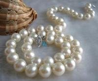 Натуральные украшения с жемчугом 18 дюймов 8 8,5 мм белый круг пресноводный жемчуг класса ААА Ожерелье Новинка Бесплатная доставка