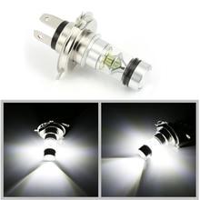 12V Auto Car Head Light Lamp Fog Light Bulb H4 LED 6000K 100W 20LED Super Bright Headlight Car Styling Car Light Source