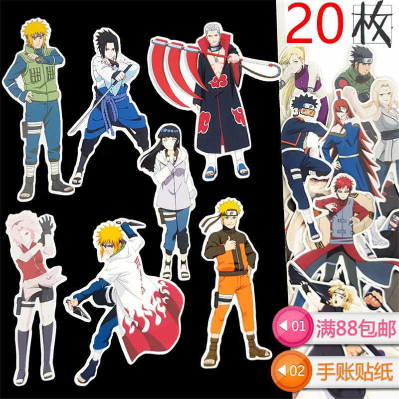 20 piezas genial Anime Guerrero pegatinas etiqueta del coche del teléfono caso impermeable bicicleta mochila para portátil etiqueta engomada impermeable