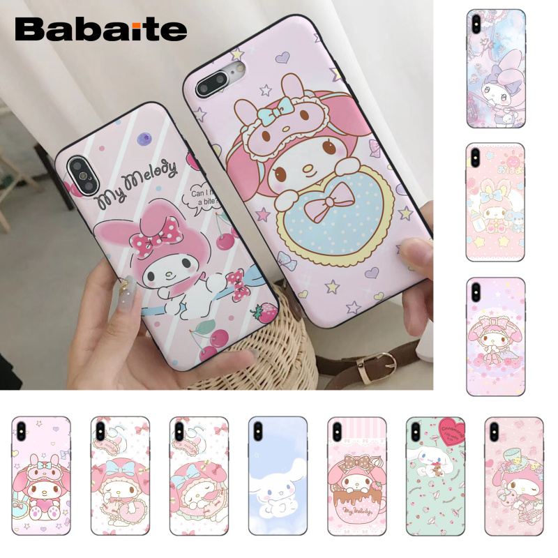 Half-wrapped Case Cellphones & Telecommunications Lovely Babaite Sailor Moon Soft Rubber Black Phone Case For Iphone 8 7 6 6s Plus X Xs Xr Xsmax 5 5s Se 5c