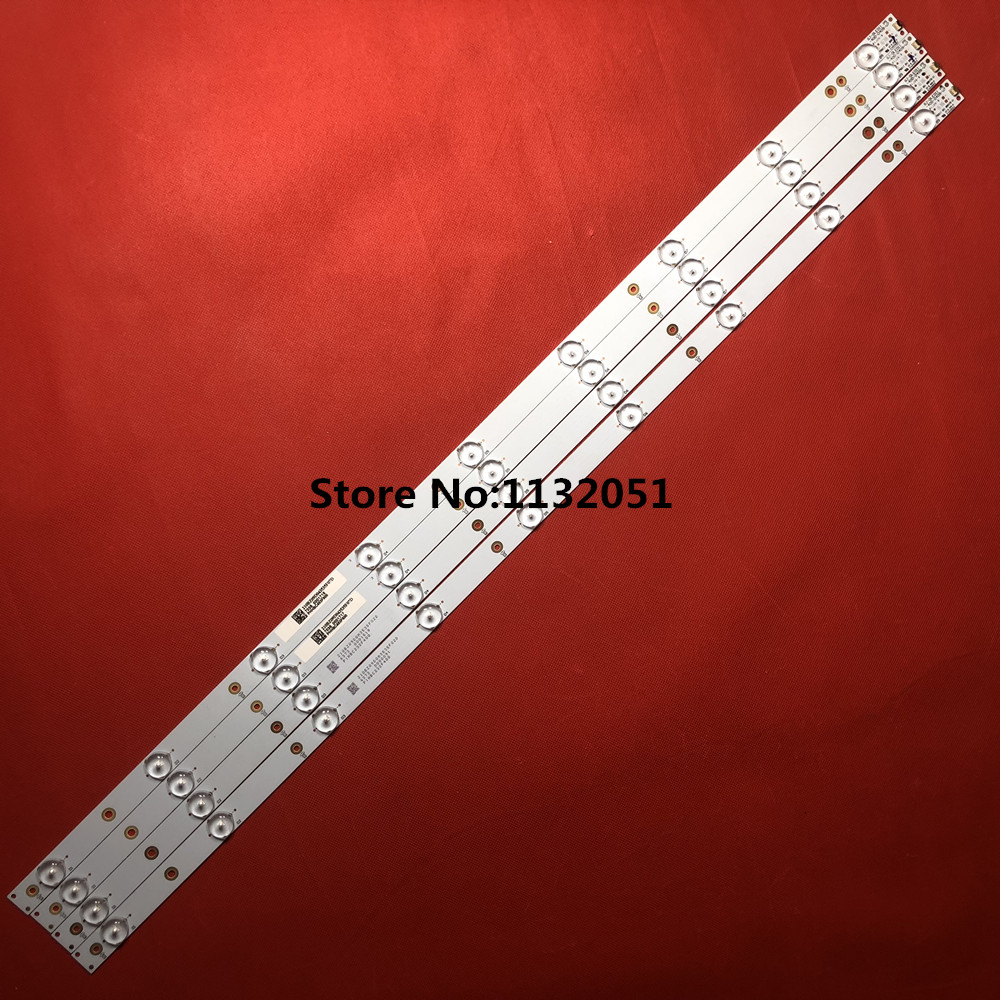Lights & Lighting Official Website 1set=4pcs Led Backlight Strip For 40inch Aoc Ph I Li Ps 40pff5650/t3 Led Strip Lb40013 V0-04 Sung Wei 16v0 E74739