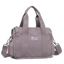 2018 New Design Brand Nylon Bolsas Femininas Casual Women Bag Ladies Solid Handbag Big Shoulder Bags