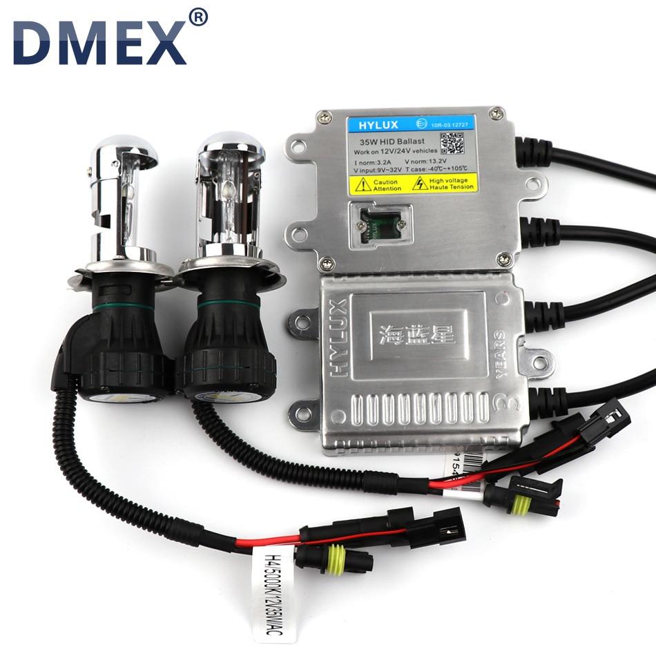 DMEX 1 Set 12V 24V 35W Fast Start Fast Bright Xenon HID Kit H4 H13 9004