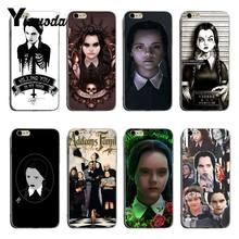 Yinuoda Wednesday Addams Family transparent soft tpu Cell Phone Case For iPhone 6 6plus 7 7Plus 8 8plus X XS XR XSMax(China)