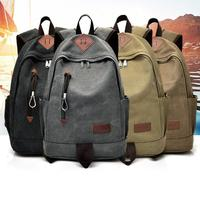 MOLAVE Backpacks New High Quality Canvas Casual Men Backpack Travel Student School Laptop Bag Backpack Women