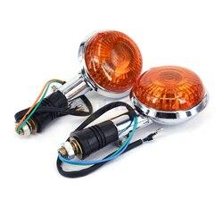 Kierunkowskazy motocykla lampka kontrolna dla YAMAHA v star XVS XV400 XV650 XV1100 XV1300 V MAX 1200 Vmax 1200 na
