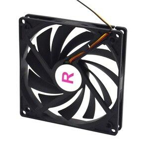Image 2 - 100Mm, 10Cm Fan, Enkele Ventilator, Ultra Dunne, Wasbaar, Super Mute, voor Voeding, Voor Computer Case Cooler
