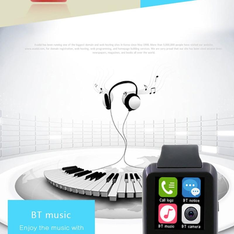 Reloj inteligente reloj de pulsera digital Bluetooth U80 para iPhone - Relojes para hombres - foto 5