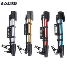 Zacro Bicycle Pump Bike Cycle Mini Pump Bicycle Adapter Aluminum Inflator Ball Needle West Biking for Ball Presta Valve Adaptor(China)