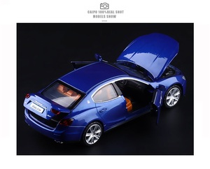 Image 4 - High Simulation Exquisite Diecasts & Toy Vehicles: Caipo Car Styling Maserati Ghibli Sports Car 1:32 Alloy Diecast Model Toy Car