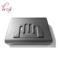 Сейф с проверкой отпечатков пальцев коробка Твердая стальная Блокировка ключом безопасности Сейф для денег ценности ювелирные изделия нал