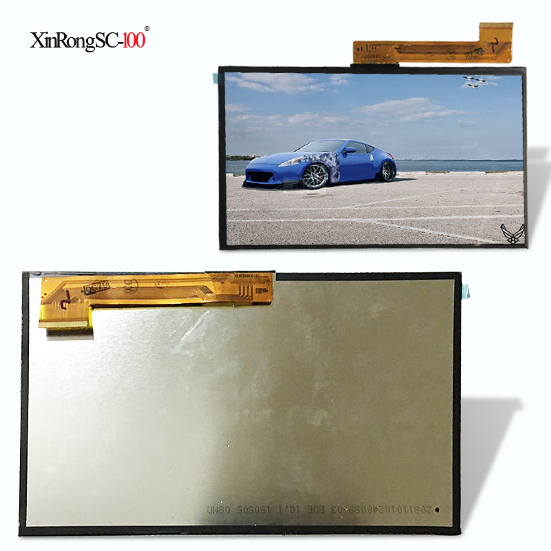 10.1 inch 50pin LCD Display Matrix For SPC GLEE 10.1 QUAD CORE TABLET inner LCD Screen Lens Module replacement For SPC GLEE 10.1 for 7 inch tablet lcd display wjws070087a fpc lcd screen module replacement 30 pin lwh 164 97 2 5mm
