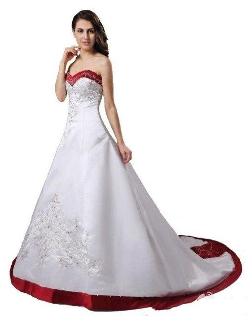 recién llegado de una línea de color rojo púrpura blanco vestidos de