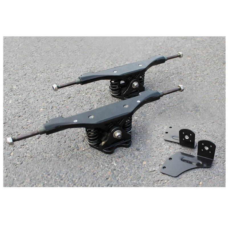 Livraison gratuite 2 pièces 11 pouces planche à roulettes électrique camion joint en aluminium moteur joint camions pont à Long bord