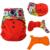 Jinobaby fralda de pano duplo à prova de fugas reutilizável bebê fraldas para bebês 8 a 38 libras ( com a inserção de bambu )  fraldas reutilizáveis fraldas de algodão para bebé fraldas reutilizáveis fralda