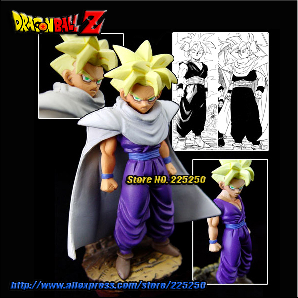 Japan Anime DRAGONBALL Dragon Ball Z/Kai Genuine Original MegaHouse Capsule/Gashapon NEO Toys Figures Part 15 Gohan Super Saiyan