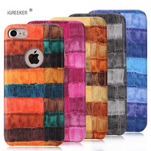 Фотография crocodile snake print high quality  Phone Case for iPhone 6s 6Plus case for iphone 7 7Plus for iPhoneX for iphone8 8plus