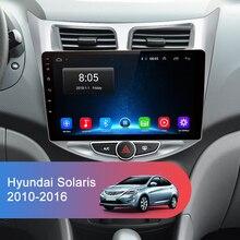 Multimedia Player for Hyundai Solaris Verna Accent i25 GPS Navigation