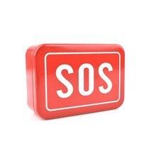 SOS Printed Outdoor Survival Box Portable Medical Cigarette Business Card (Survival) Tool Organizer Case Container