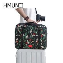 HMUNII Man Fashion Creative Packing Cube Suitcase Women's Tr