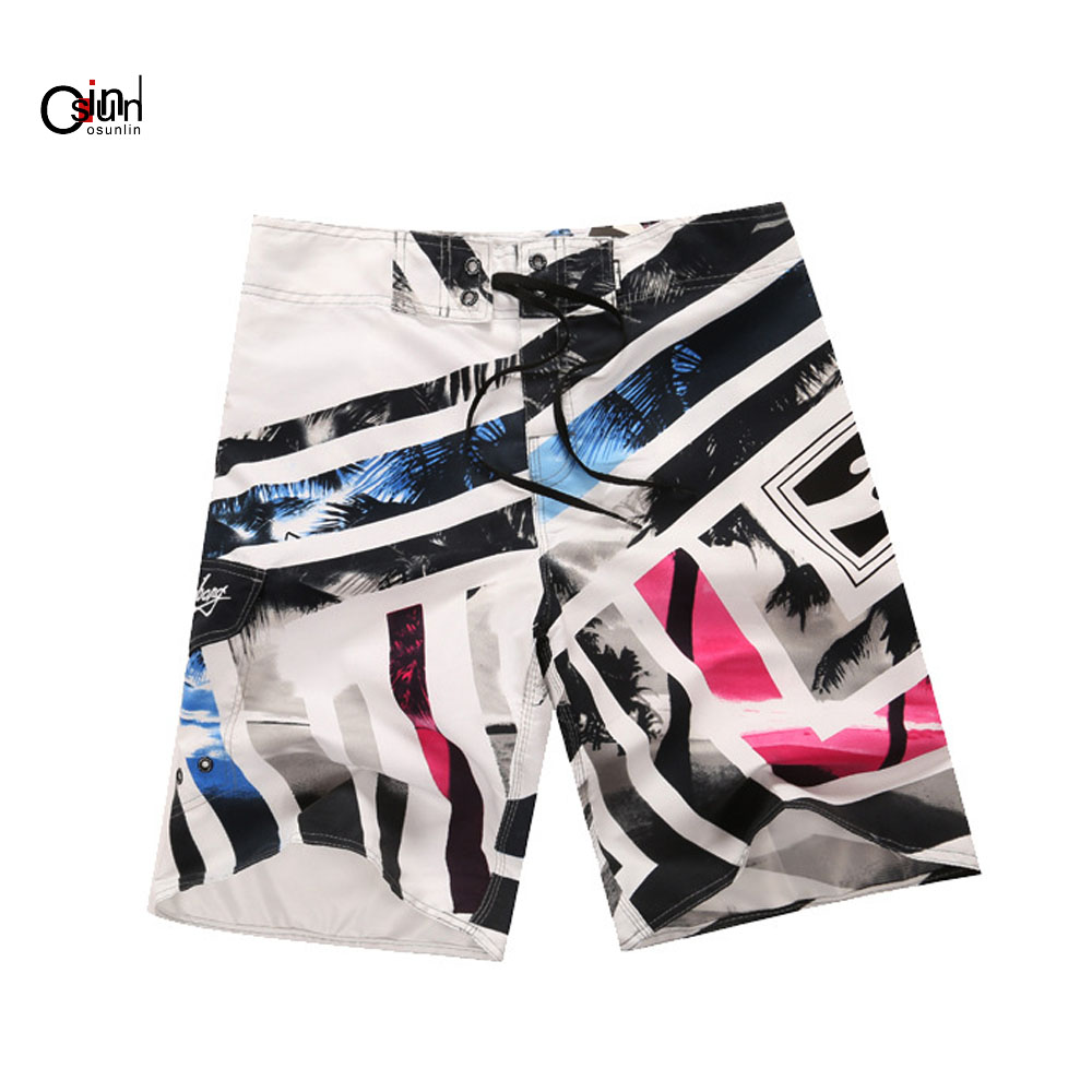 Board Shorts Osunlin Swimwear Trunks Beach Board Shorts Swimming Short Pants Swimsuits Mens Running Swimming Shorts Quick Dry For Men 2019 Promoting Health And Curing Diseases