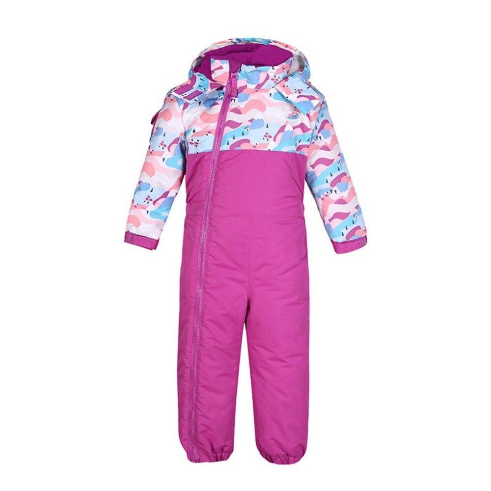 Nouveau costume de Ski pour garçons/filles pantalon imperméable + ensemble de veste Sports d'hiver vêtements épaissis costumes de Ski pour enfants