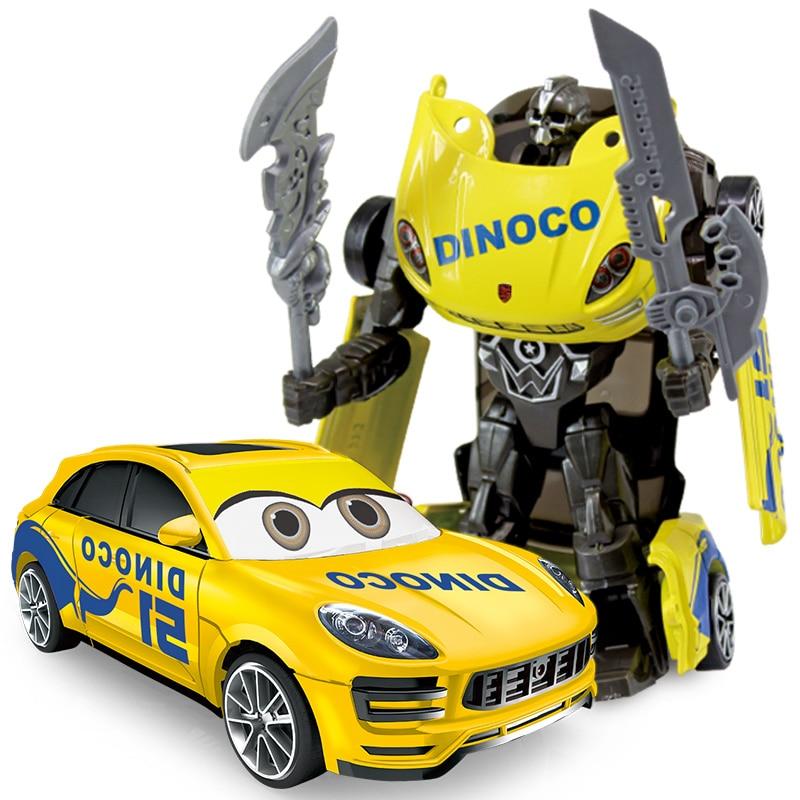 1:43 Anime joonised Mänguasjad Transformatsioon Alloy Car Models - Mänguasi arvud - Foto 3