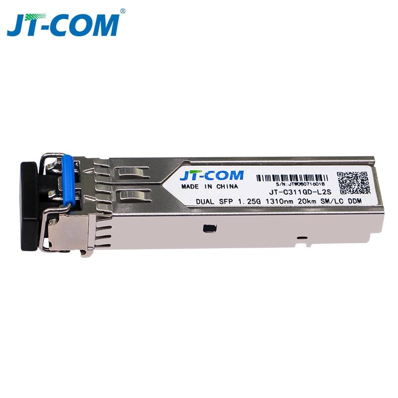 Image 3 - 1000Mbps mini Gbic Single Mode duplex SFP Module LC Compatible Cisco/Mikrotik switch GLC LH SM Fiber Optic module 20/40/80/120KM-in Fiber Optic Equipments from Cellphones & Telecommunications