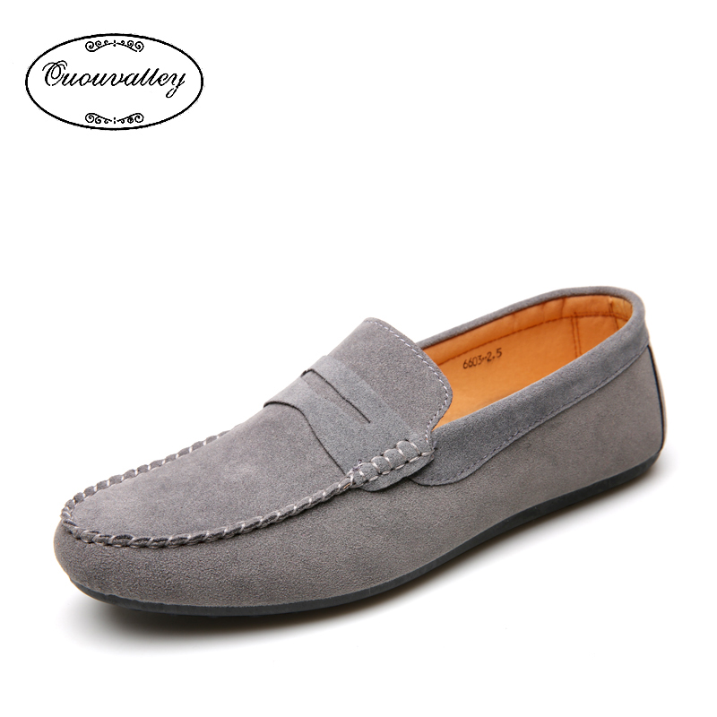 Men Flat Spring Summer Breathable Slip-on Shoes Men Loafer Shoes Fashion Casual Moccasins Flats For Driving