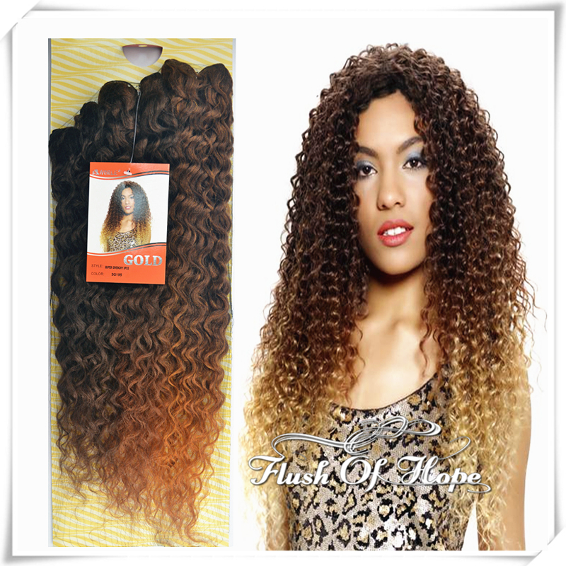 Noble gold natural bohemian super givenchy ombre wavy two tones noble gold natural bohemian super givenchy ombre wavy two tones color deep curl synthetic hair weft extensions 22 8 packslot on aliexpress alibaba pmusecretfo Choice Image